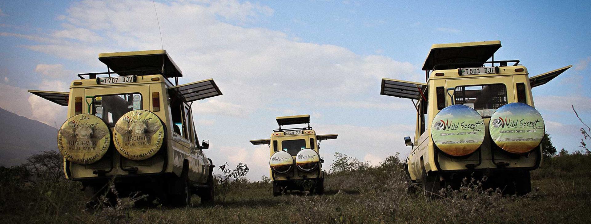 Our safari Vehicle tanzania