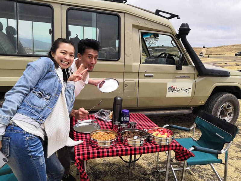 Honeymoon Safari tanzania